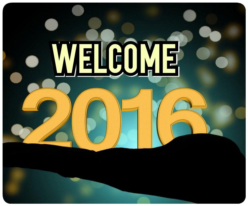 Selamat menyambut tahun baru 2016.