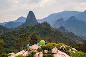 Menengok Keindahan Gunung Kandaga Tanjungsari Ada yang Pernah..?