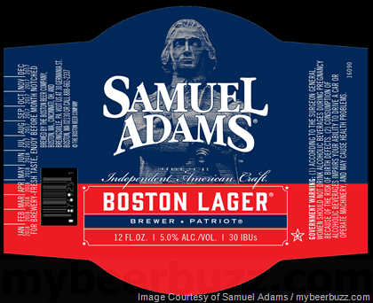 Samuel Adams Independent Craft Seal Bottles
