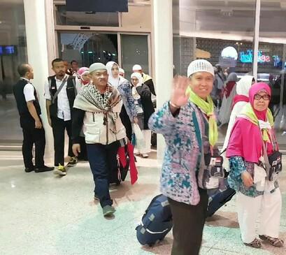 SEBANYAK 5.889 ORANG JEMAAH HAJI DARI 17 KLOTER PULANG KE TANAH AIR INDONESIA