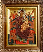 Образ Богородицы «Всецарица» (Пантанасса)
