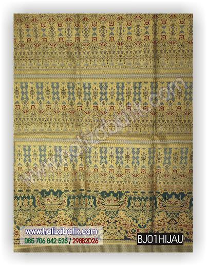 BJ01%2BHIJAU Toko Baju Online Murah, Corak Batik Indonesia, Kain Batik Modern, BJ01 HIJAU