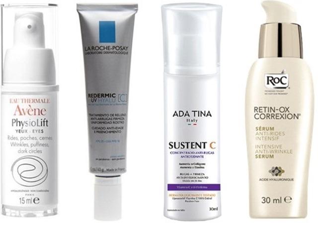 Avene, La Roche, Ada Tina e ROC produtos