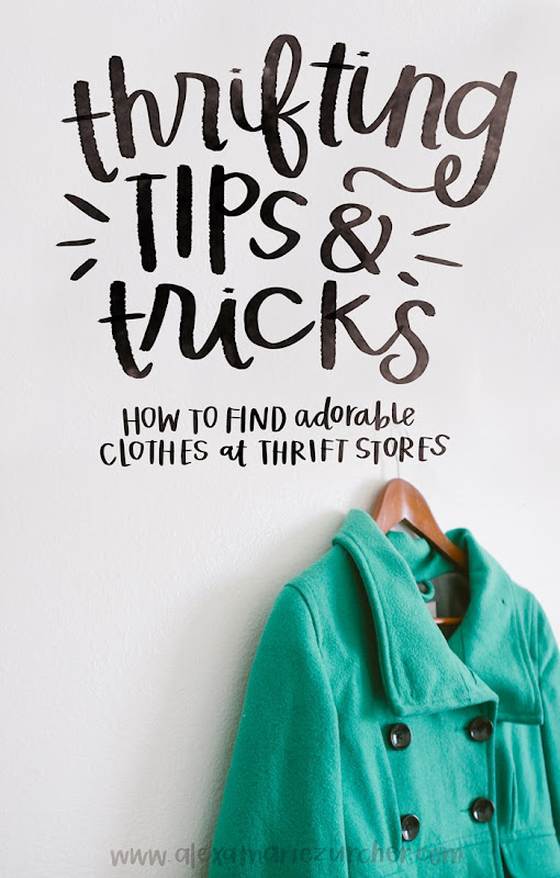 Thrifting Tips and Tricks