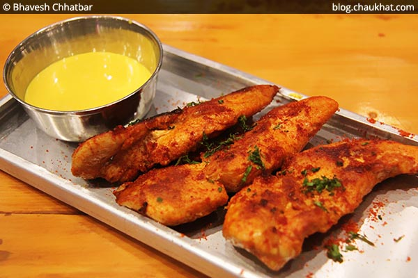Peri Peri Chicken Tenders at Double Roti, Viman Nagar, Pune