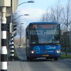 Mercedes integro van Arriva / Qliner met lijn 315 naar Lelystad Centrum NS Centrum