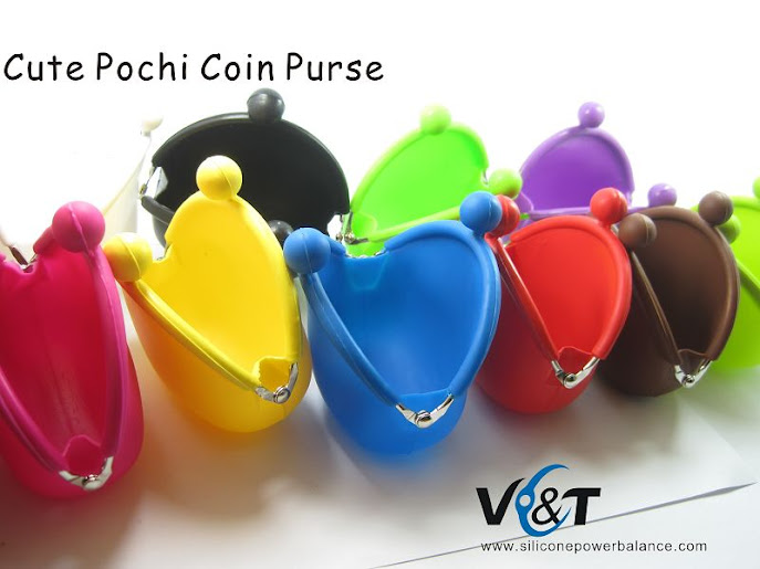 cute pochi silicone coin purse bag wholesale china