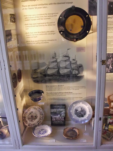 Tayleur porthole, Warrington Museum. From The Sinking of the RMS Tayleur: The Lost Story of the 'Victorian Titanic'