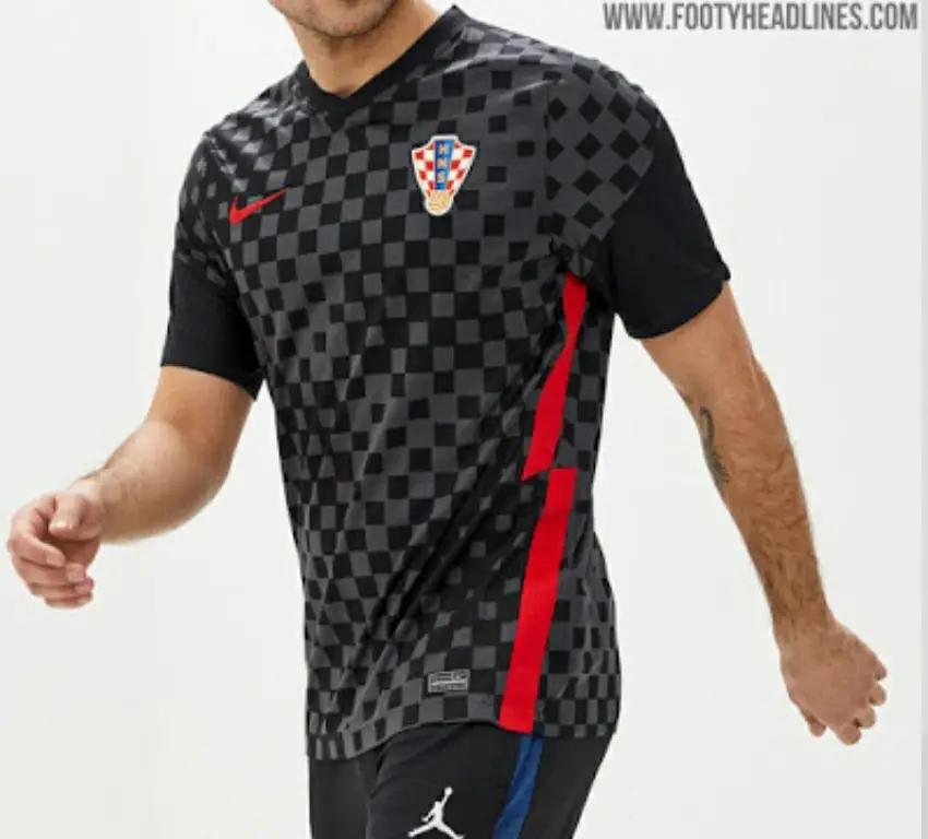 ini adalah gambar foto jersey kroasia 2019 babak penyisihan euro 2020
