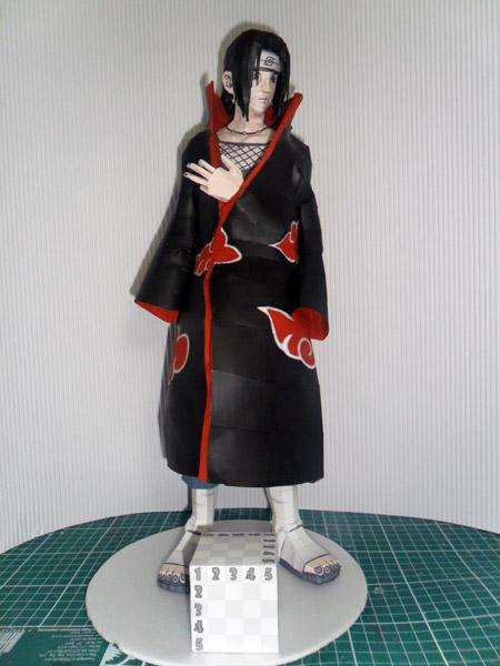 Naruto Itachi Uchiha Papercraft