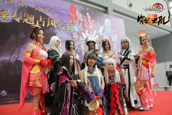 Ngắm bộ ảnh cosplay cực đẹp của Võ Lâm Truyền Kỳ 3 - Ảnh 16