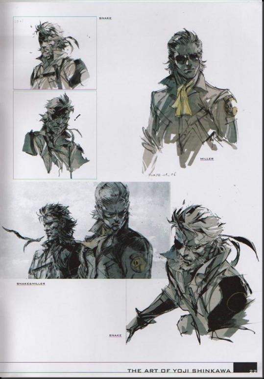 The Art of Yoji Shinkawa 1 - Metal Gear Solid, Metal Gear Solid 3, Metal Gear Solid 4, Peace Walker_802479-0023
