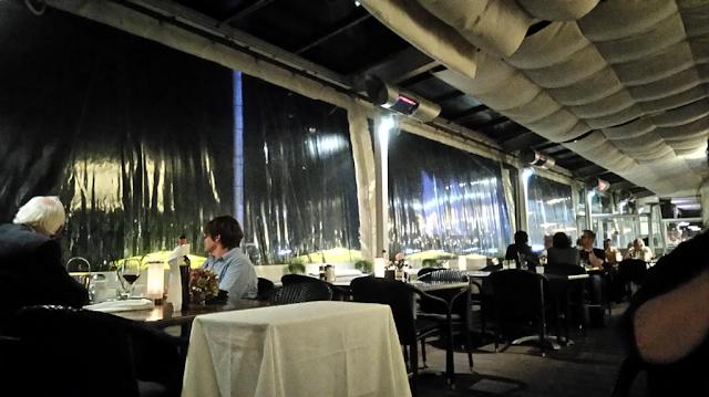 Restaurant Schulau bei Schiffsbegrüßungsanlage in Wedel bei Hamburg