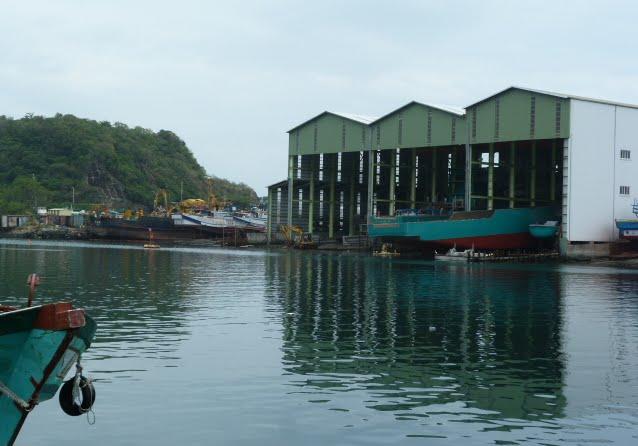 TAIWAN .Le port de SU AO - P1090073.JPG
