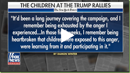 children trump rally