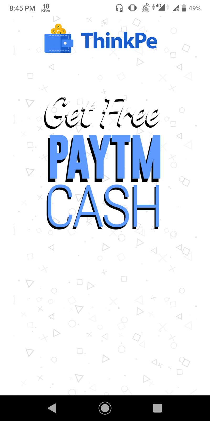 ThinkPe App — SignUp ₹10  Refer ₹5 PayTM
