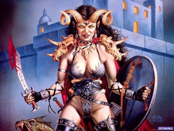 Hell In Eyes, Demonesses