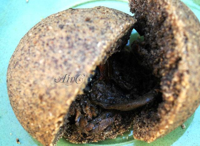 Focaccina di grano saraceno ripiena di melanzane vickyart arte in cucina
