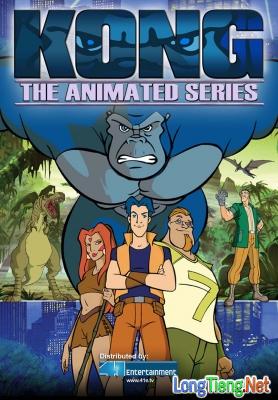 Những bộ phim hoạt hình thú vị về King Kong mà bạn chưa biết - Ảnh 3.