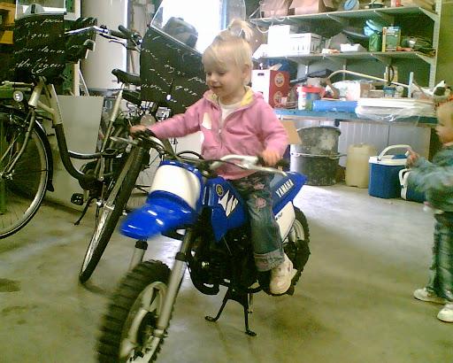 Al vroeg gek van motoren