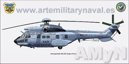 Super Puma 803 Escuadron