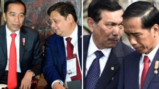 Pengamat Bongkar Alasan Jokowi Lebih Percaya Luhut ketimbang Airlangga