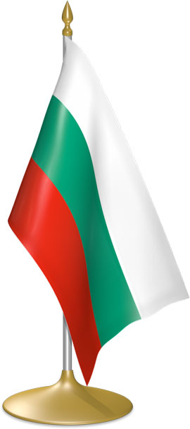 Bulgarian table flags - desk flags