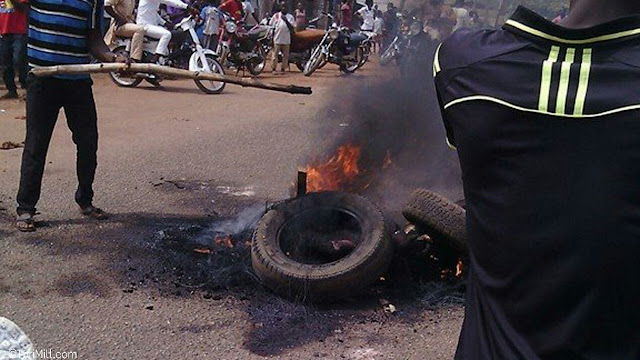 Boy Set His Friend Ablaze Over Mobile Phone In Enugu (Photos)