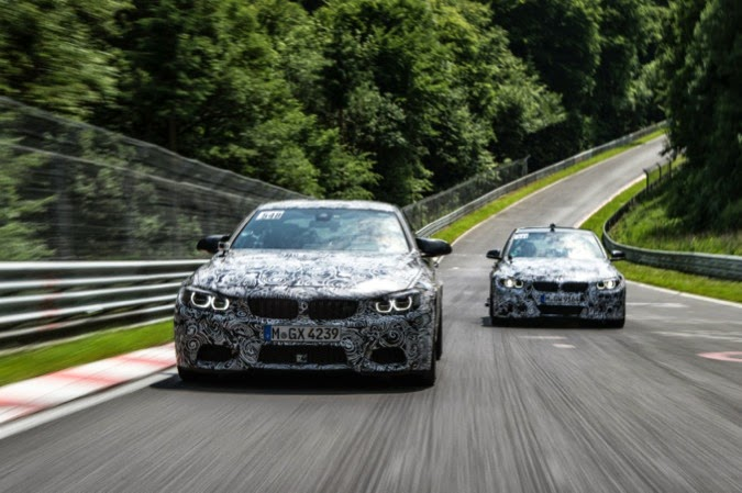 BMW M3 and M4 Technology 996