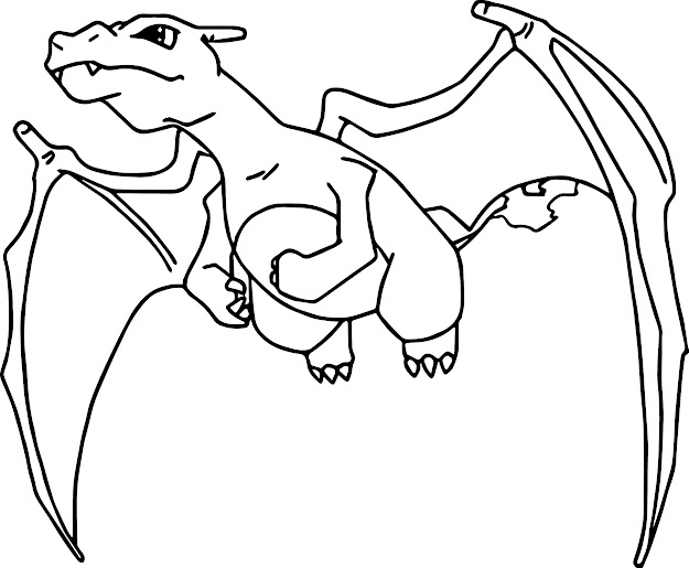 Charizard Coloring Pages With Charizard Coloring Page