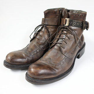 Jo Ghost Wingtip Boots