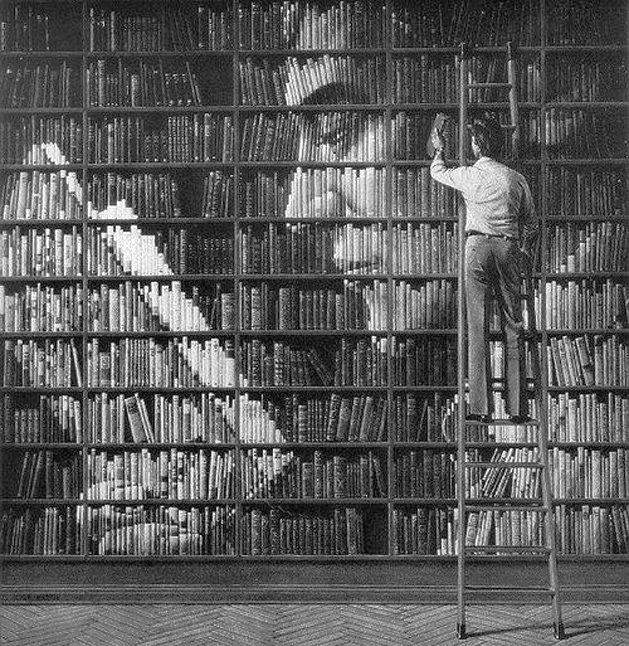 Книжные полки…