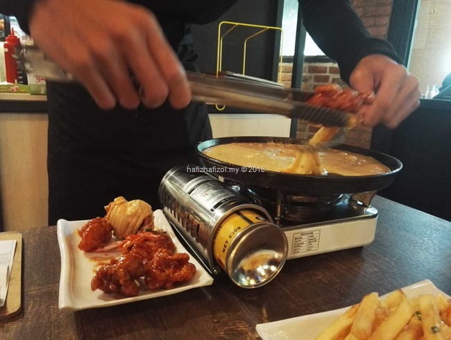 Cheesy Bumbuk Spicy Yangnyeom