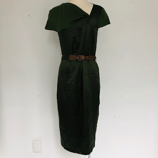 Carolina Herrera Green Sheath