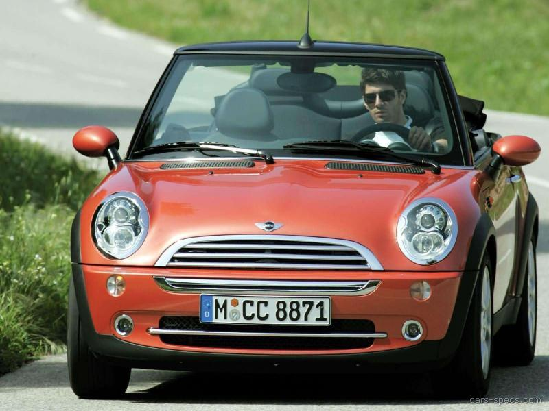 2005 mini cooper convertible specifications pictures prices. Black Bedroom Furniture Sets. Home Design Ideas