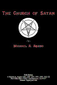 Cover of Michael Aquino's Book Church of Satan (5th Edition)