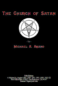 Cover of Michael Aquino's Book Church of Satan (5th Edition)
