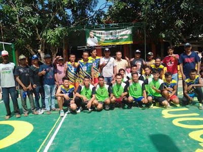 Selama Dua Hari Open Turnamen Volly Mulya Safari Cup Digelar