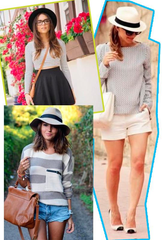 Use o chapéu em looks urbanos e descontraídos que você gostaria de dar um  toque fashionista! Use chapéus com saias b4862250904