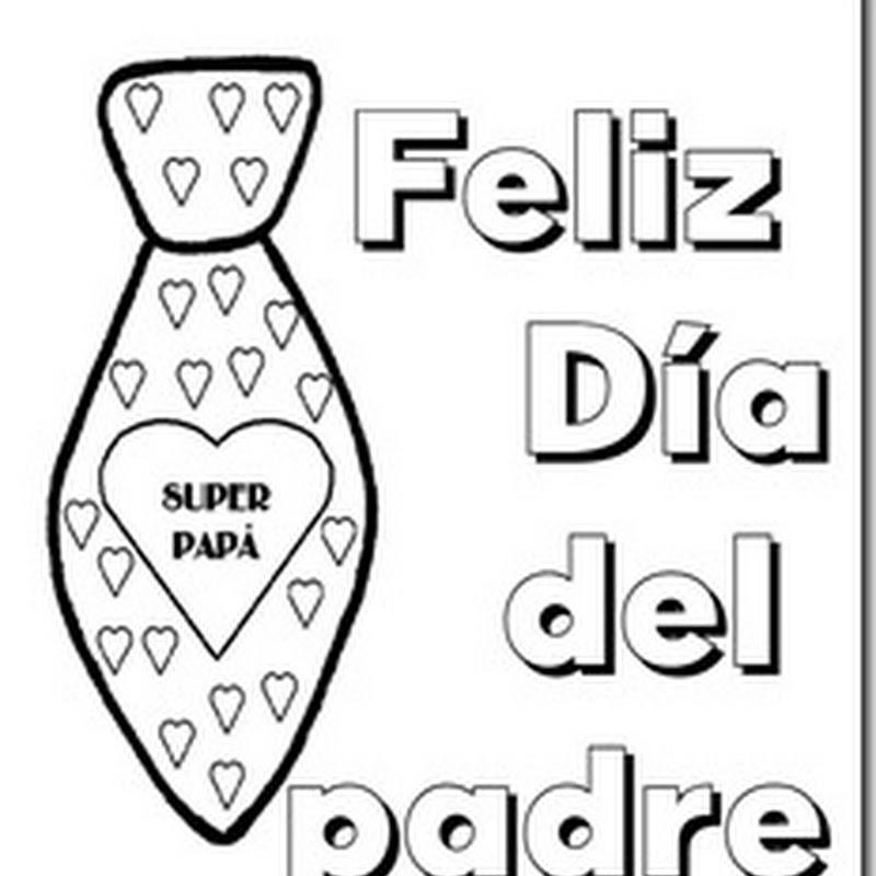 Dibujos para colorear Día del padre