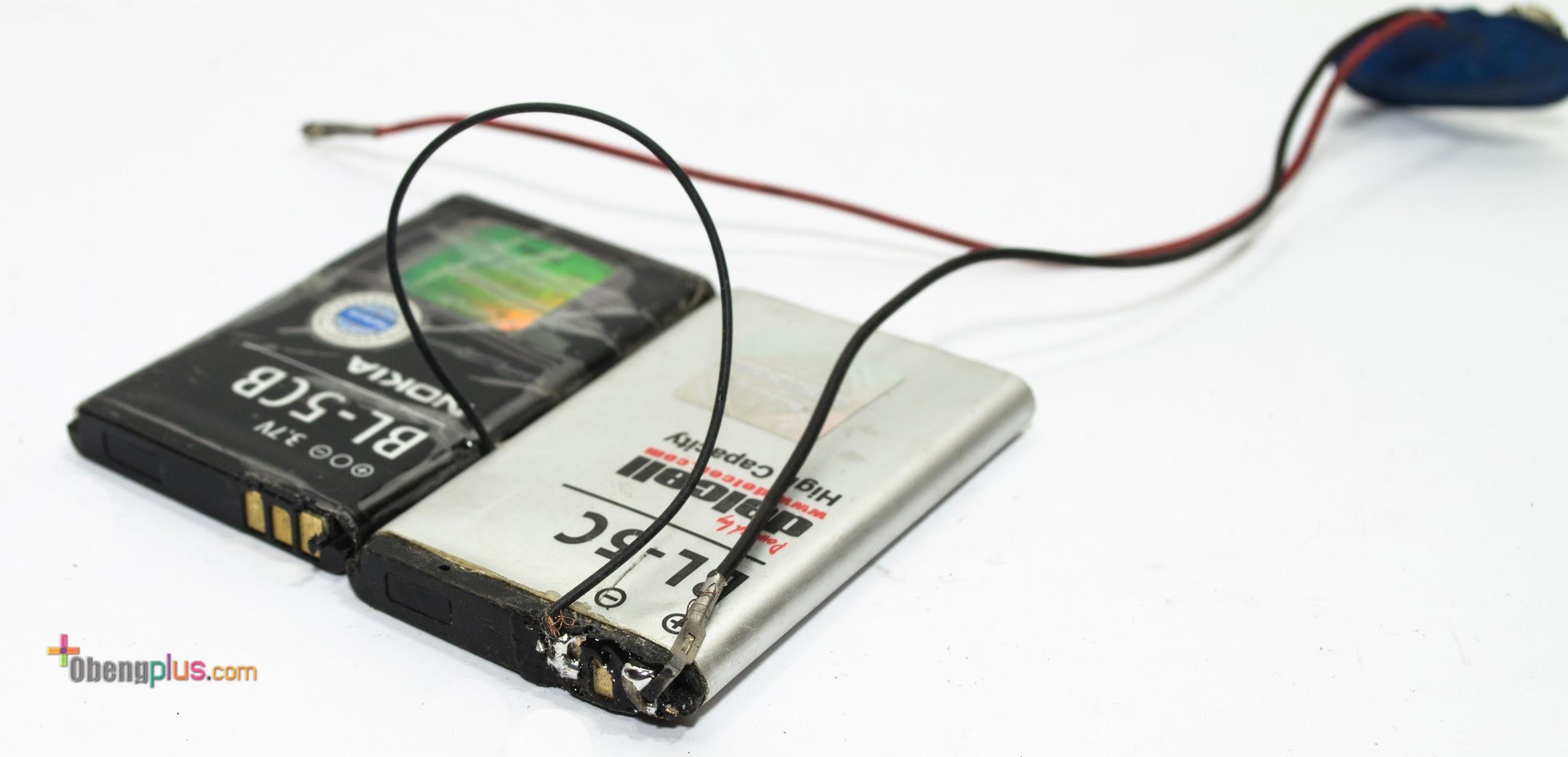 Baterai 9v Dengan Dua Baterai Lithium Ion