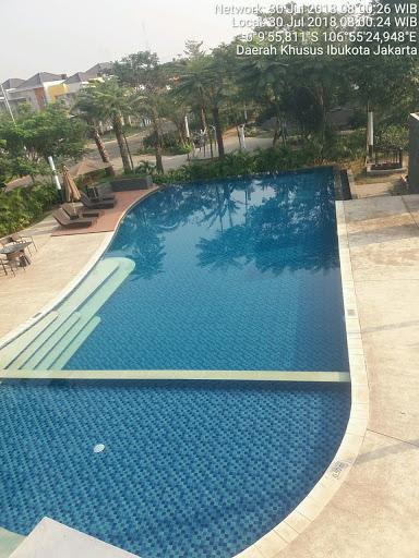kolam renang indah