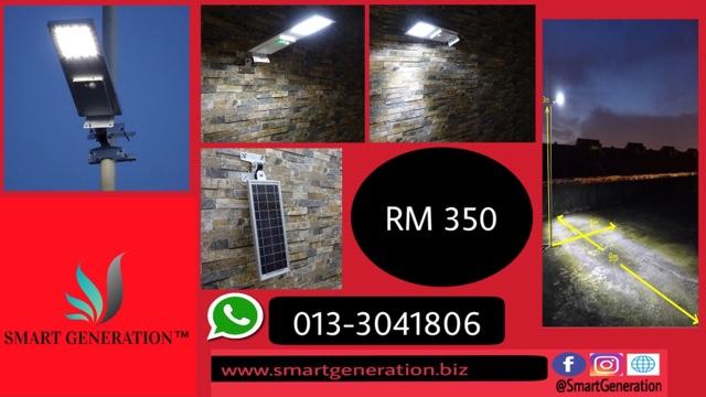 Smart Generation Lampu Solar Jalan Solar Street Light