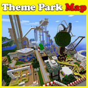 Theme Park maps for MCPE