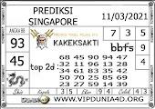 Prediksi Togel SINGAPORE DUNIA4D 11 MARET 2021