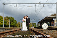 Bruidsreportage (Trouwfotograaf) - Foto van bruidspaar - 184