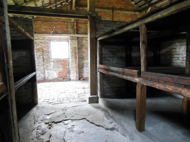 Barracón en el  Campo de Concentración Auschwitz-Birkenau