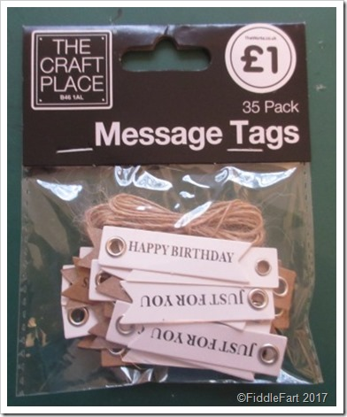 The Works - 35 Pack Message Tags