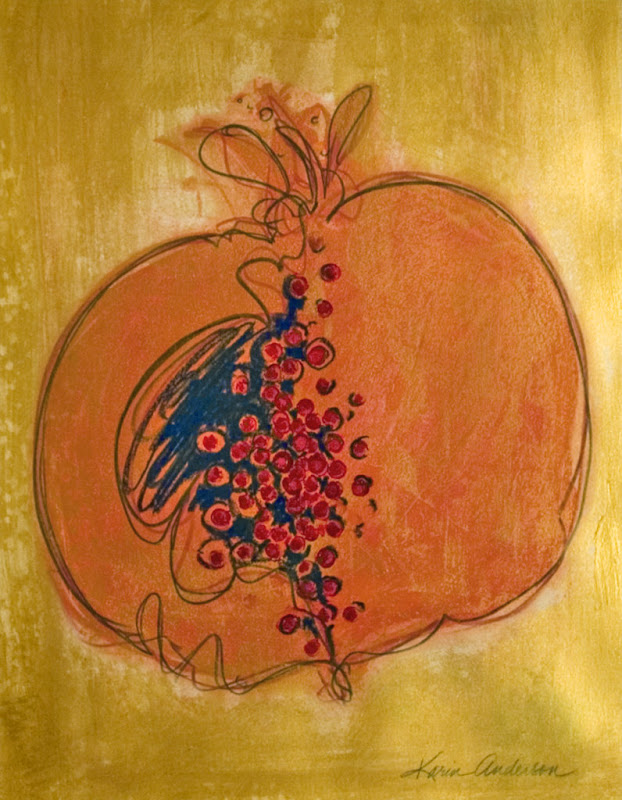 Golden Pomegranate