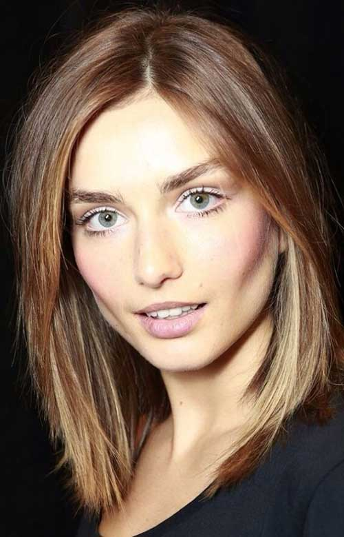 Best Light Brown Bob Hairstyle With Bangs Fashion Qe